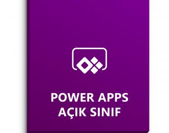 Power Apps Açık Sınıf